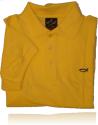 Mens Yellow Polo Shirt