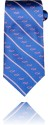 Tie Blue with Pink Fish, One Size Fits All