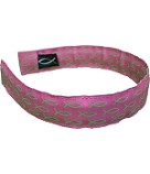 Head Band Pink with Green Fish One Size Fits All